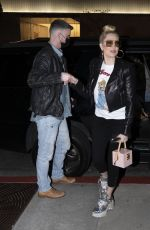 Erika Jayne Is all smiles as she arrives at BOA Steakhouse in West Hollywood