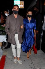 Eva Longoria Leaving dinner with her husband at Mr. Show in Beverly Hills