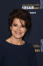 Fanny Ardant At 46th Cesar Film Awards 2021 ceremony at Olympia in Paris