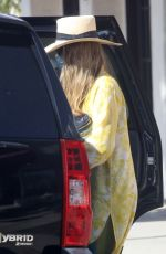 Fergie Looks colorful as she steps out to run errands in Pacific Palisades