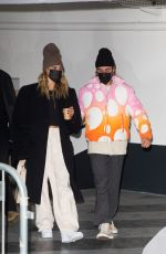 Hailey Baldwin/Bieber & Justin Bieber Leaving the Crillon Hotel in Paris, France