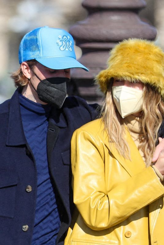 Hailey Bieber & Justin Bieber Out & about in Paris, France
