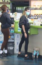 Hailey Bieber Out with Oscar in Los Angeles