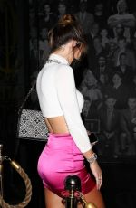 Hannah Stocking Dining at Catch LA in West Hollywood