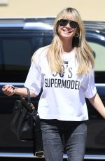 Heidi Klum Arrives to AGT taping in Los Angeles