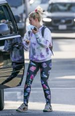Heidi Montag Dons colorful and comfy ensemble while making a grocery stop at Erewhon Market