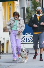 Helena Christensen Seen with an unknown male companion in New York
