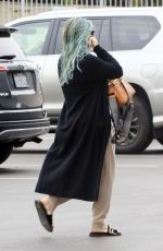 Hilary Duff Pictured heading to her workout on Sunday in Los Angeles