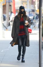 Irina Shayk Out And About In NYC