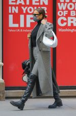 Irina Shayk Steps out in New York City