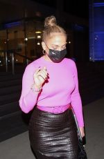 Jennifer Lopez Leaving a business meeting in Beverly Hills