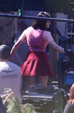 Joey King On the set of Bullet Train in Los Angeles