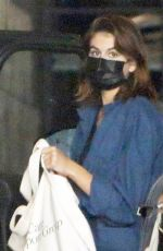 Kaia Gerber Is Stylish In Blue Button Up While Running Errands In LA