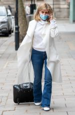 Kate Garraway Pictured arriving at the Global studios for her Smooth radio show in London