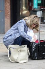 Kate Garraway Seen departing her Smooth FM show at the Global Radio Studios in London