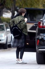 Kate Mara Heads to the park in Silver Lake