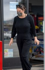 Katharine McPhee At a convenience store in Los Angeles