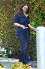 Katharine McPhee Rocks double denim as she returns to American Idol in Los Angeles