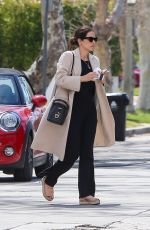 Katharine McPhee Spotted After Giving Birth To a Son in Los Angeles