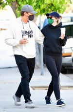 Katherine Schwarzenegger and actor husband Chris Pratt are out in Brentwood