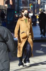Katie Holmes O&A in NYC