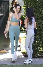 Kendall Jenner Going to a Pilates class in West Hollywood