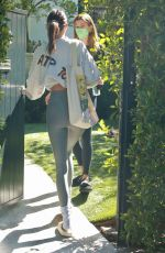Kendall Jenner Going to a private workout in LA