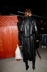 Kendall Jenner Seen arriving at The Nice guy Club for Justin Bieber new album release