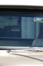 Kendall Jenner Seen cruising through town in her vintage truck, Los Angeles