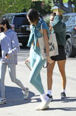 Kendall Jenner Spotted out for her morning Pilates class in West Hollywood