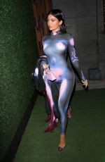 Kylie Jenner Steps out for dinner with friends at Nobu in Malibu
