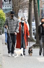Lili Reinhart & Madelaine Petsch Seen out on a stroll together in Vancouver, Canada