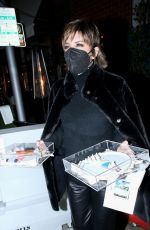Lisa Rinna and Cristal Kung Minkoff were seen leaving Mr Chow after Kathy Hilton