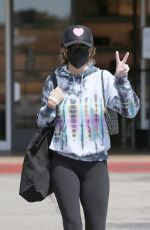 Lisa Rinna Wears a protective mask as she goes shopping