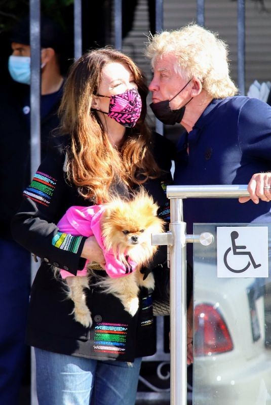 Lisa Vanderpump and husband Ken Todd show display of affection as they prepare for PUMP re-open