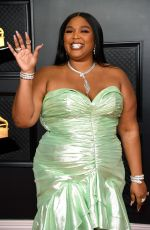 Lizzo At 63rd Annual Grammy Awards in Los Angeles