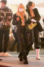 Lottie Moss & Tana Mongeau At Saddle Ranch in West Hollywood
