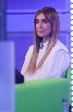 Louise Redknapp On the set of