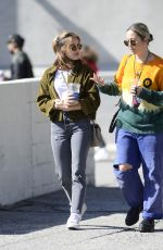 Lucy Hale At a coffee shop in LA