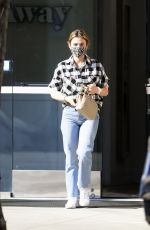 Lucy Hale At a LaserAway clinic in Los Angeles