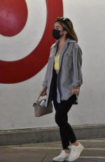 Lucy Hale Goes shopping at Target in Los Angeles