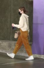 Lucy Hale Goes shopping at the Jewelry Store in Downtown Los Angeles