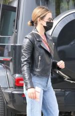 Lucy Hale Shopping at a clothing store in Los Angeles