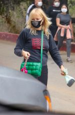 Malin Akerman Is a happy hiker in Los Feliz