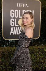 Margot Robbie Attending the 78th Annual Golden Globe Awards in Beverly Hills