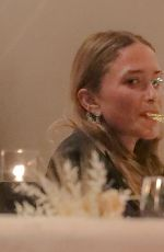 Mary-Kate Olsen Out for a business dinner in New York City