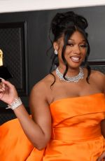 Megan Thee Stallion At 63rd ANNUAL GRAMMY AWARDS at the STAPLES Center in Los Angeles