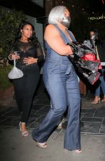 Megan Thee Stallion Celebrate her 3 Grammy wins with family & friends in Hollywood