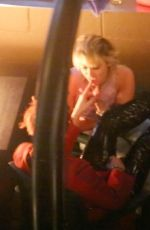 Miley Cyrus Getting frisky with Yungblud while out with freinds at Rainbow Room in Los Angeles