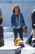 Natalie Portman On the set of Thor: Love and Thunder in Sydney